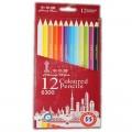 中华 6300 12色 彩色铅笔