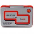 欧标 YT01红色 YT02蓝色 铁盒印台