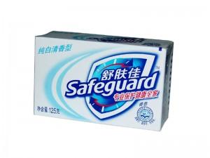 舒肤佳纯白清香型香皂125g