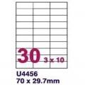 骑士QS4456 A4 100张装 打印标签