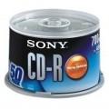 索尼(sony)CD-R 700MB 光盘 50片装