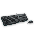 罗技(Logitech)MK100二代 经典键鼠套装  PS/2键盘 USB鼠标