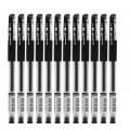白雪G-7中性笔 子弹型0.5mm笔头 事务专用中性笔 四色可选