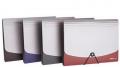 deli得力 风琴包 5558 a4多功能事务包文件包 资料整理收纳 固定绳设计