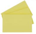 得力大本便利贴 7735 办公长方形126*76mm 留言贴纸 N次贴不干胶 便条纸 百事贴