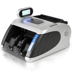 得力点钞机3901新版人民币验钞机银行专用小型语音验钞机