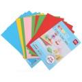deli得力彩色儿童折纸 6437 彩色卡纸 手工折纸 DIY创意加厚双面折纸 5色 30张/包