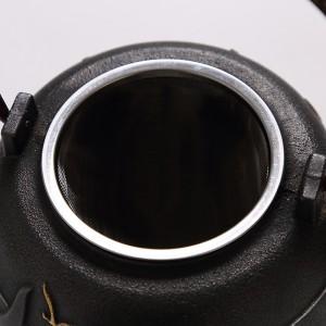 VENES菲驰原生铁壶套装 养生煮茶壶套装 老铁壶+铁杯x4+壶垫+壶叉 VT191